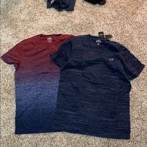 2 Hollister Shirts
